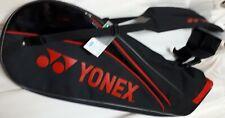 Yonex (6 pcs) Racquet Carry Bag, Bag7126Ex, 77 x 22 x 35 cm, Black/Red