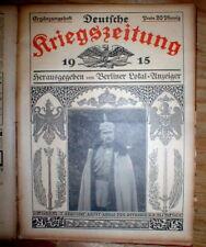 30 # Jun-Dec 1915 Berlin Germany illustrated Ww I newspapers German War News