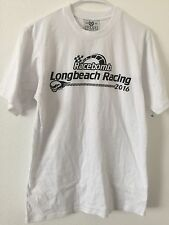 Org.CHXXRS CLUB Mens Racebomb Long Beach Racing 2016 Power Skull Rare T-shirt M