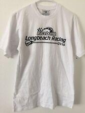 Org.CHXXRS CLUB Mens Racebomb Long Beach Racing 2016 Power Skull Rare T-shirt M
