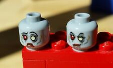 1x LEGO Zombie Bride Dual Sided Minifigure Head
