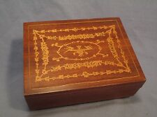 Wood Music Box w/ Swiss Reuge Movement / Jn 771