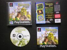 SHREK TREASURE HUNT : JEU Sony PLAYSTATION PS1 PS2 (Tdk COMPLET envoi suivi)