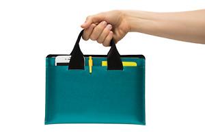 Handmade iPad Bag, Keyboard Compatible, Accessories Pocket, iPad Business Case