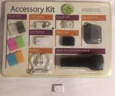 APPLE IPOD 2ND GENERATION SHUFFLE & ACCESSORY KIT CARRY COVERS EXERCISE ARM BAND