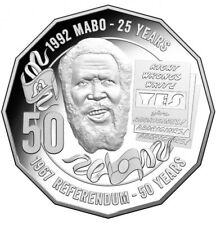 2017 AUSTRALIAN 50 CENT COIN - 1992 MABO 25 YEARS - 1967 REFERENDUM 50 YEARS