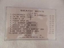 "The Beach Boys ""30 Years Box""  ADVANCE SAMPLER Cassette NEW! BEYOND RARE!"