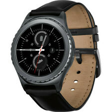 Samsung Galaxy Gear S2, Verizon (Unlocked) - Leather Band - Grade A+