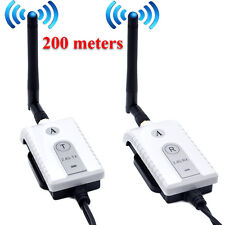 2.4G Wireless AV Cable Transmitter and Receiver For Bus Car Video Monitor Truck