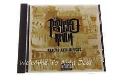 Psycho City Blocks [Maxi Single] by The Psycho Realm (CD, Jul-1997, Ruffhouse)