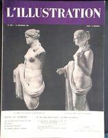 Rivista per Lettera Settimanale L'Illustrazione N° 4999 La Venus 1938 ABE
