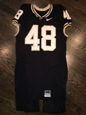 Game Worn Purdue Boilermakers Football Jersey Used Nike #48 Size 42 CRANK