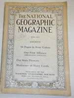 National Geographic Magazine Our First Alliance June 1917 091414R