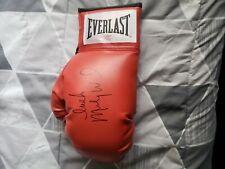 MICKY WARD Signed Everlast Red Boxing Glove w/Irish - SCHWARTZ