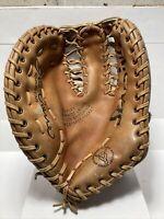 Vintage Spalding Joe Torre First Baseman Leather Baseball Glove LHT 42-4216