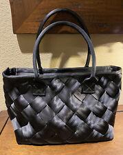 VEUC!! HARVEYS Seatbelt Bag Bags Large Black Plaza Tote Purse