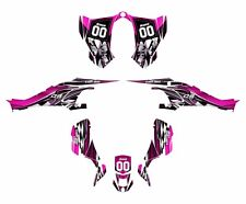 CAN AM DS 450 graphics ds450 sticker kit 2500 Hot Pink Free Custom Service