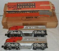 Vintage Lionel Santa Fe 2353P F-3 Diesel Locomotive + 2353T Dummy Model Trains