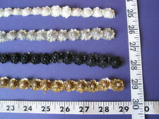 3205 Doll Dreams TRIM Sequins w Pearls Yardage CLOSE OUTS Sale Unique 4 Yds