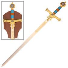 Medieval 10th Century King Solomon King of HebrewsTemplar Crusader Sword- Blue