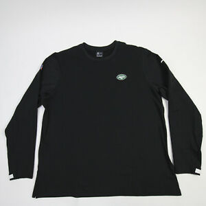 New York Jets Nike Dri-Fit Long Sleeve Shirt Men's Black New without Tags