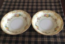Noritake Milroy Set Of 2 Berry Bowls. Excellent Condition