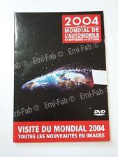 MONDIAL DE L AUTOMOBILE - PARIS 2004 - DVD
