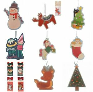 Christmas Air Fresheners Santa Snowman Penguin Reindeer Christmas Tree   Elf
