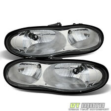 1998-2002 Chevy Camaro Headlights Headlamps Replacement 98-02 Pair Light+Right
