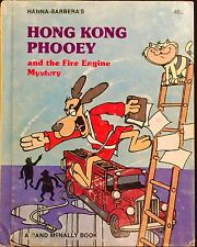 HONG KONG PHOOEY Fire Engine Mystery ~ Vintage Children's Rand McNally Elf Book