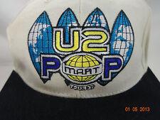 U2 Pop Mart Tour 07 Concert Hat Strapback Bono Pop Clothes Cotton 2007