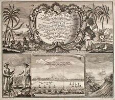 Johann Wolfgang Heydt - Ansichten Africa und Asia - Kupferstich - 1744