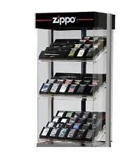 Zippo Display für 72 Zippo Feuerzeuge leer ohne Feuerzeuge beleuchtet abschließb