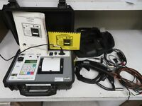 Vanguard Instruments QuickShot Digital Circuit Breaker Analyzer - w/ accessories