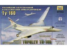 Zvezda Tupolev TU-160 Blackjack Bomber 1/144 Scale Model Kit (Z7002)