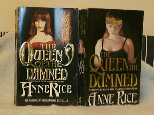 ANNE RICE QUEEN OF THE DAMNED  UK PB VERY GOOD CONDITION