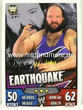 Slam Attax Rumble-earthquake-Legends