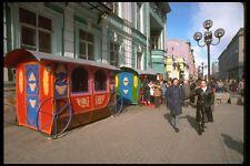 128016 Arbat paseo peatonal Moscú A4 Foto Impresión