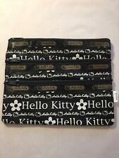 Sanrio 2006 Hello Kitty 3 Zip Cosmetic Pouch Bag New Without Tag