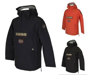 SG Giaccone giubbotto giacca uomo con cappuccio e tasche NAPAPIJRI articolo NP0A
