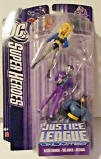 DC Super Heroes Justice League unlimited Black Canary The Joker Batman New MISB