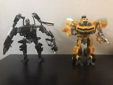 Transformers Movies ROTF Human Alliance Barricade Bumblebee incomplete lot READ!