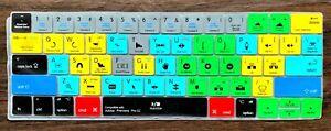 HRH Adobe Premiere Pro CC Shortcuts Hotkey Silicone Keyboard Cover Skin MacBook