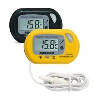 Neue Digital LCD Fish Tank Aquarium Marine Wasser Thermometer Temperatur Y7N1