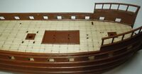Revell Spanish Galleon 1:96 - laser cut wooden deck for model