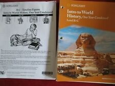Sonlight Intro to World History, One Year Condensed (B+C) Guide and Book Set