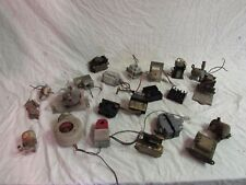 Large lot of used small industrial electrical parts