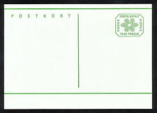 SMAA_123 Norway STATIONERY POST CARD SINGLE PORTO Combine Shipping