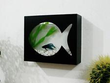 Modern Betta Fish Tank Aquarium Desktop Aquarium or Wall Mounted Fish Aquarium 1