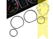 Chrom Tachoringe für BMW E36 Limousine Touring Coupe Cabrio Compact Z3